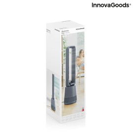 Desk Lamp Black Aluminium Cement (30 x 15 x 46 cm) by Shine Inline